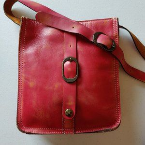"🌟Patricia Nash Pink Distressed Crossbody ""EUC"""